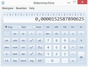 rekenmachine2